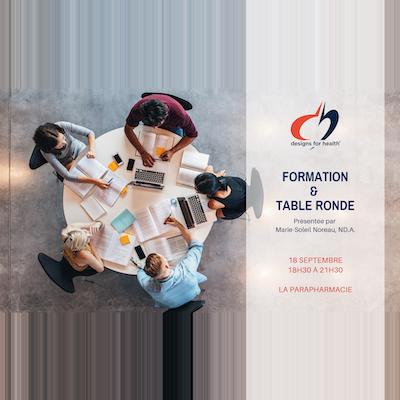 Designs for health - Formation à La Parapharmacie avec Marie Soleil Noreau