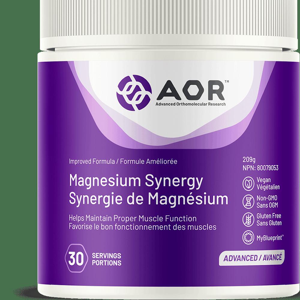 Magnésium synergy