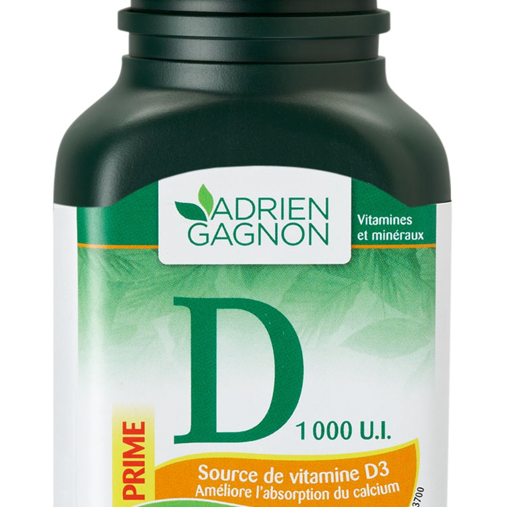 Vitamine D 1 000 UI