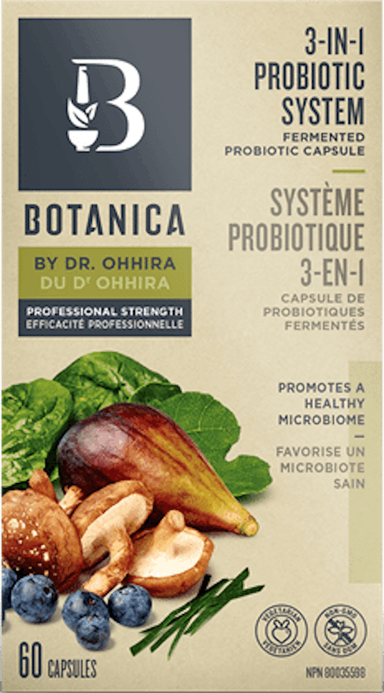 3-IN-1 PROBIOTIC BY DR. OHHIRA – PROFESSIONAL STRENGTH