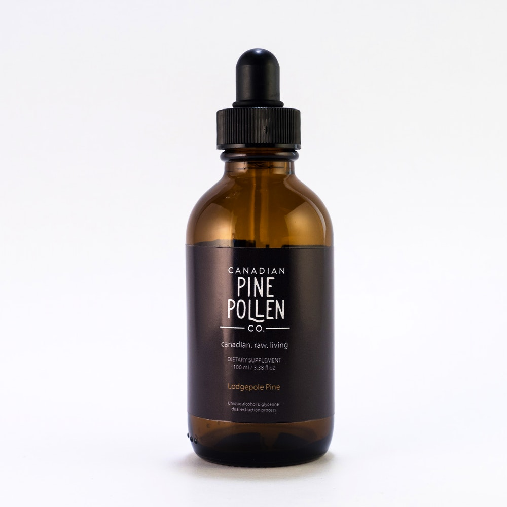 Lodgepole pine pollen extrait à 6:1 (pinus contorta)