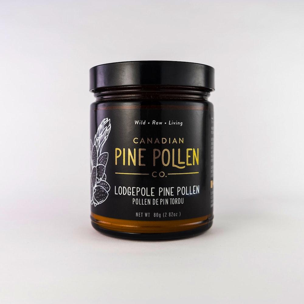 Lodgepole pine pollen (pinus contorta) - 80 g