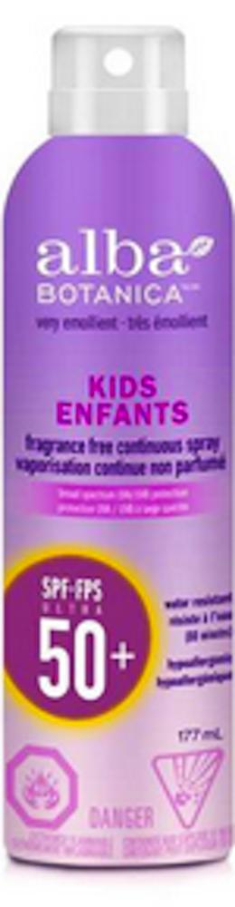 Alba Kids ContSpray Sunscreen SPF50