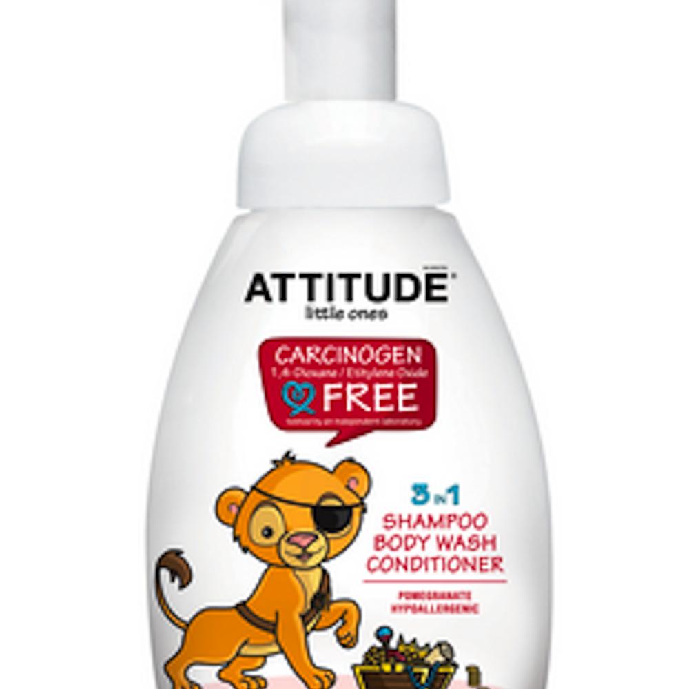 3 in1 Shampoo/Cond/Wash-Pomegrenate