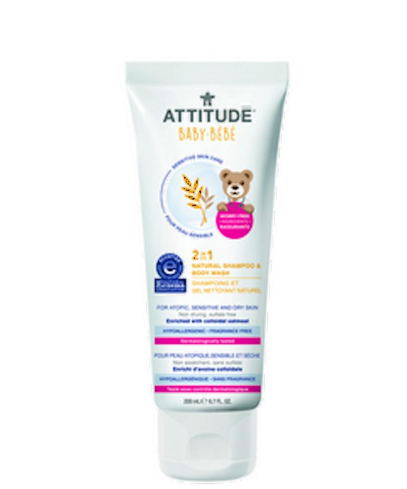 2-in-1 Natural Shampoo & Body Wash