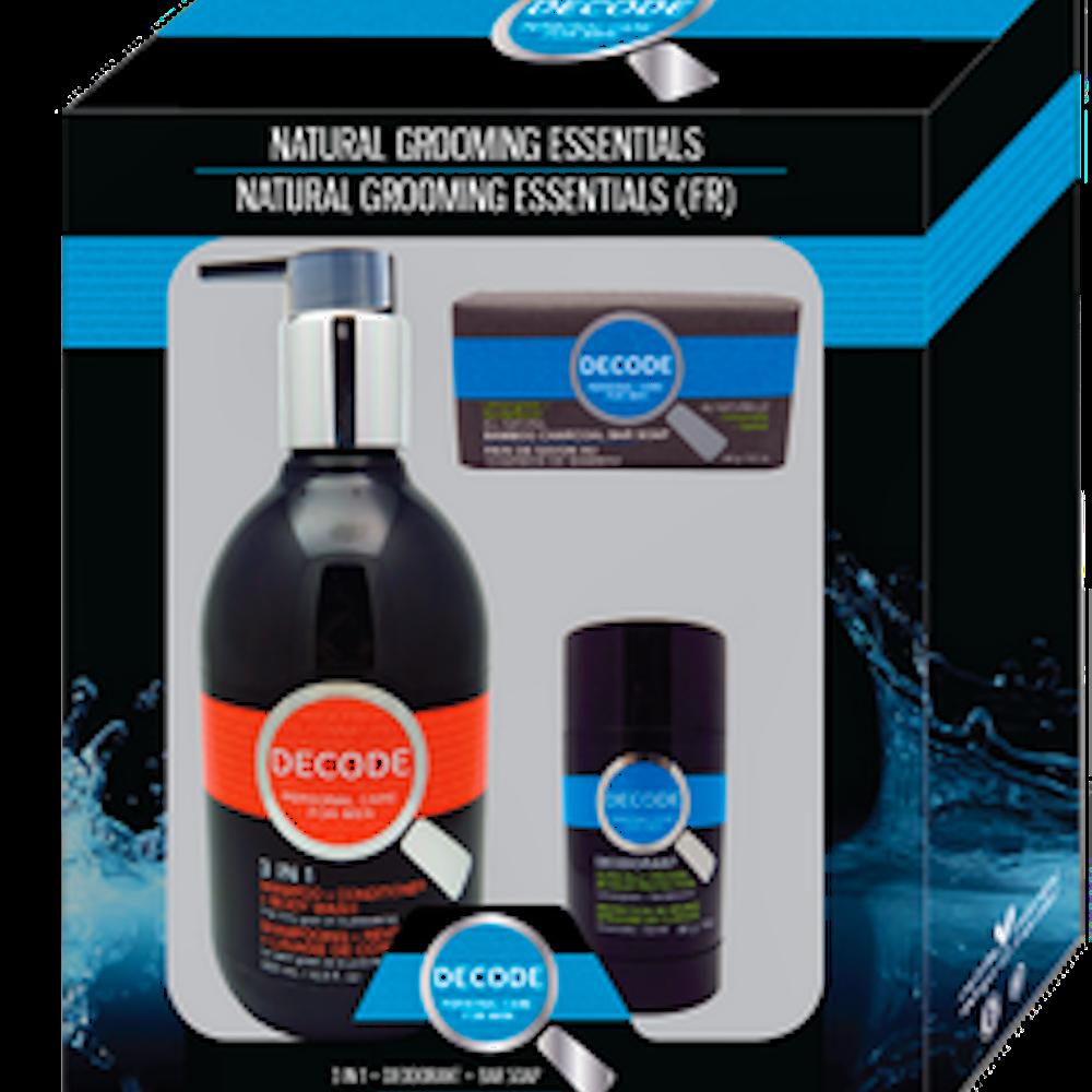 Shampoo, Deodorant & Soap Set
