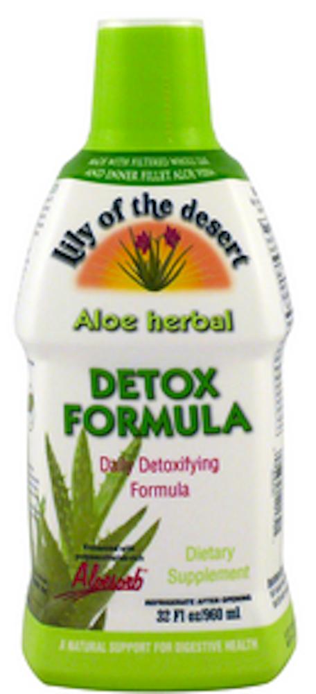 Aloe Detoxifying Formula - Plastic