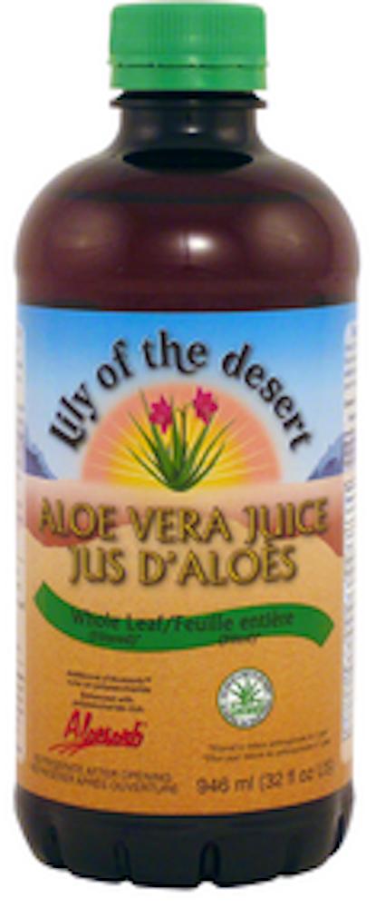 Aloe Vera Juice Whole Leaf -Plstc