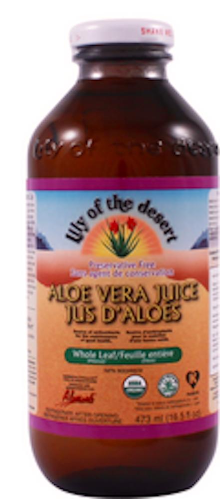 Aloe Vera Juice Whole Leaf - Gls