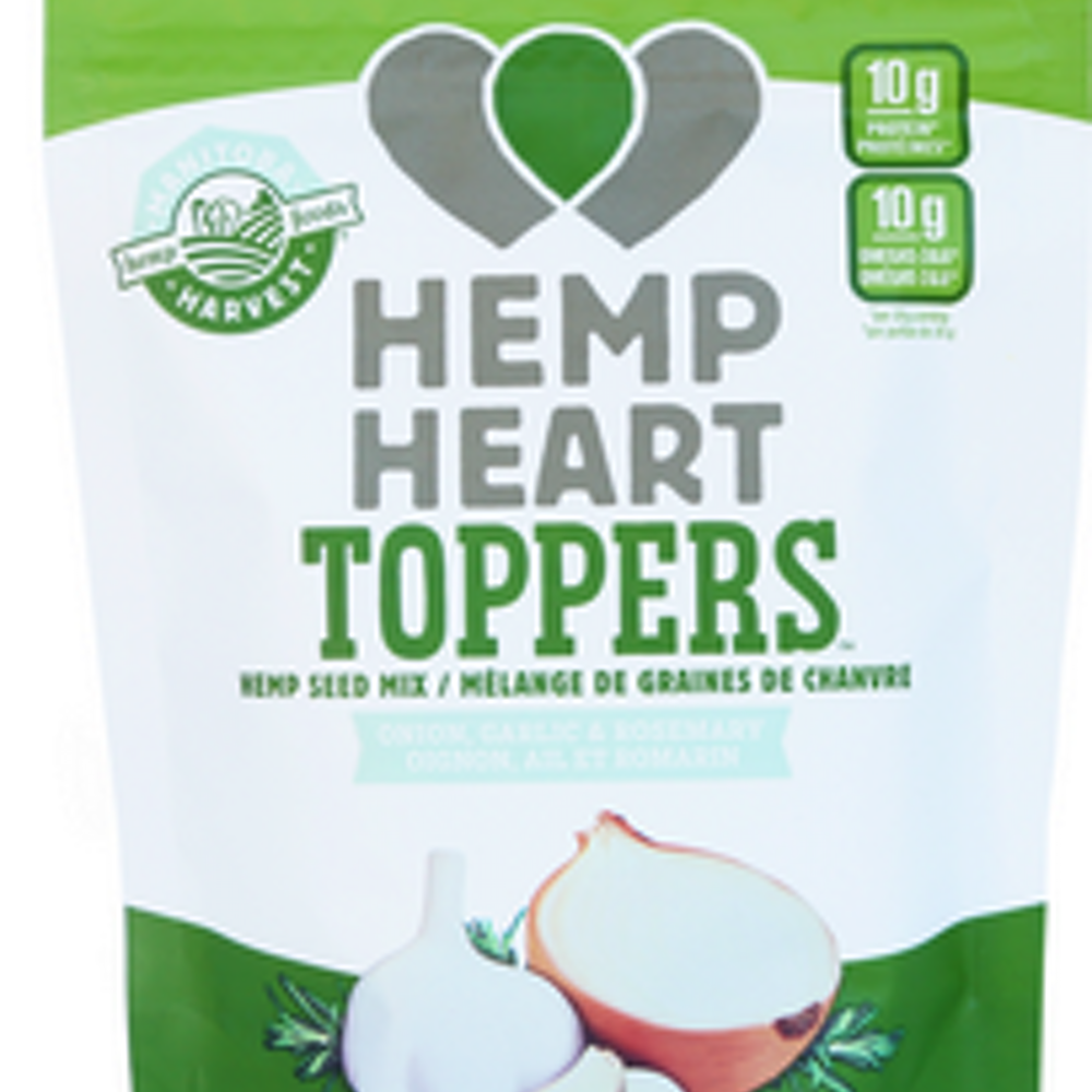 Hemp Heart Toppers-Onion,Garlic&Ros