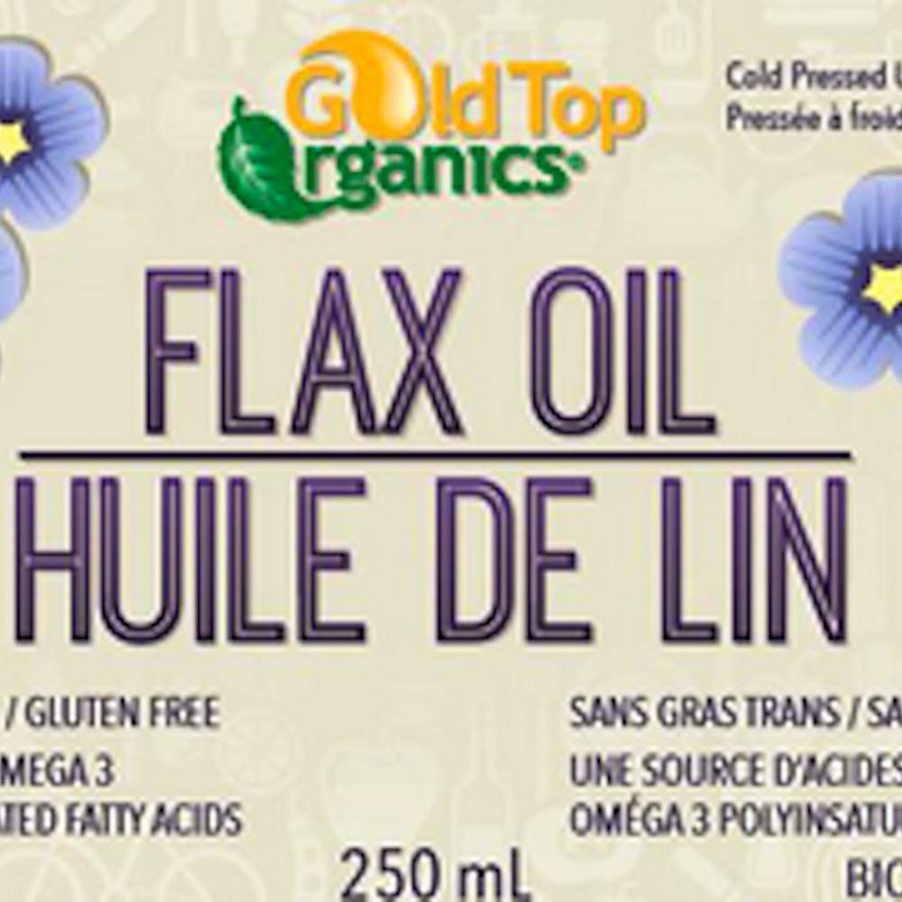 Organic Flax Oil 250ml