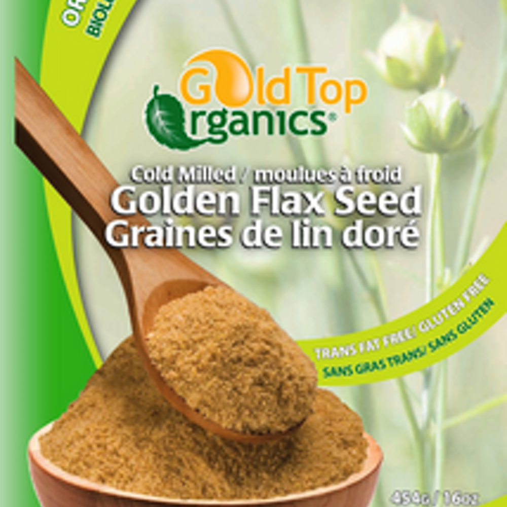 Cold Milled Golden Flax Seed