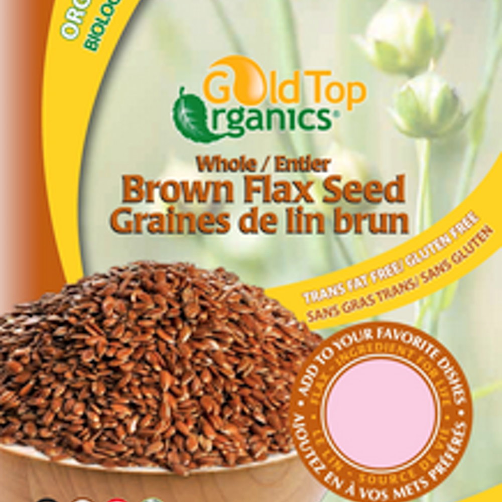 Whole Brown Flax Seed 454g