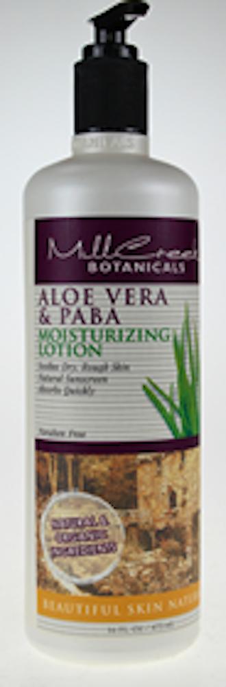 Aloe Vera & Paba Lotion