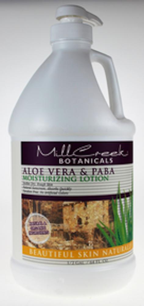 Aloe Vera & Paba Lotion 1/2 gal