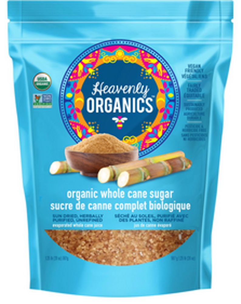 100% Organic Whole Cane Sugar