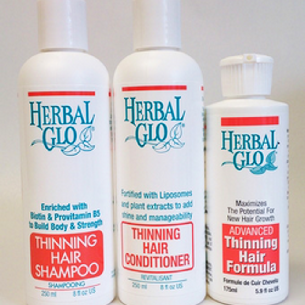 3-Step Thin-Looking Hair System