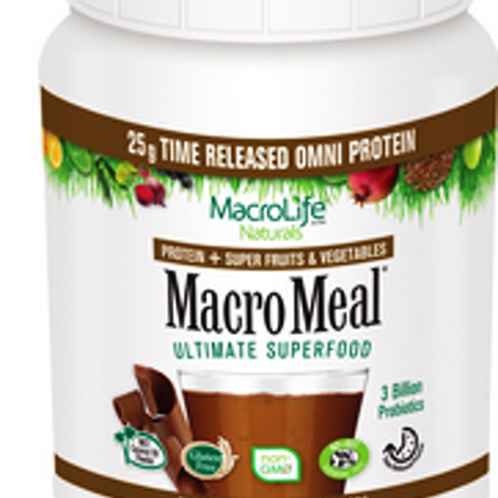MacroMeal Omni Chocolate 28 serving