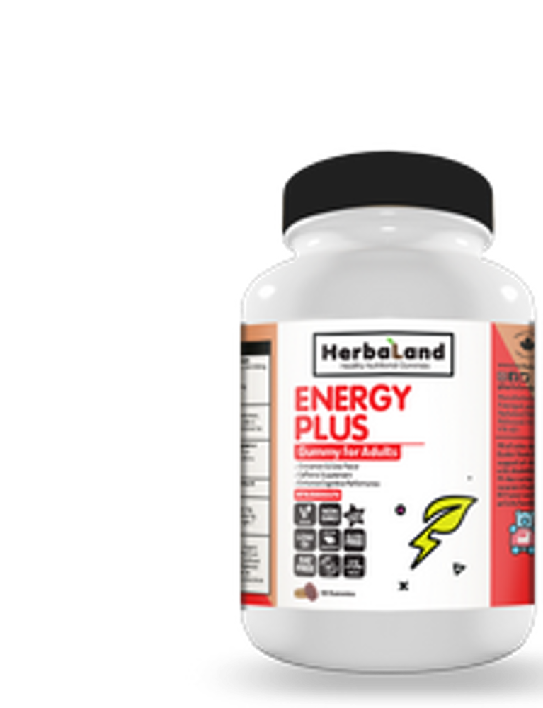 Herbaland Energy Plus Gummy (Pectin Base) - La Parapharmacie