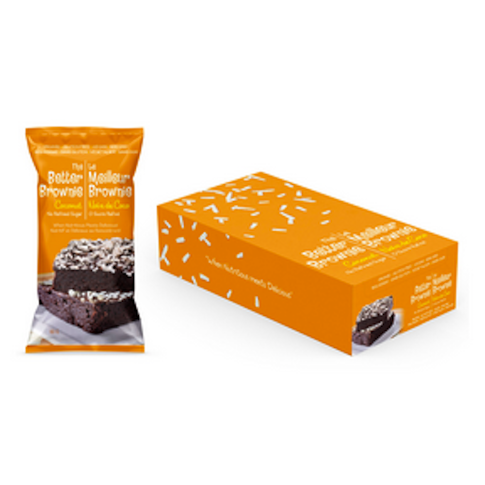 Better Brownie Chocolate Coconut