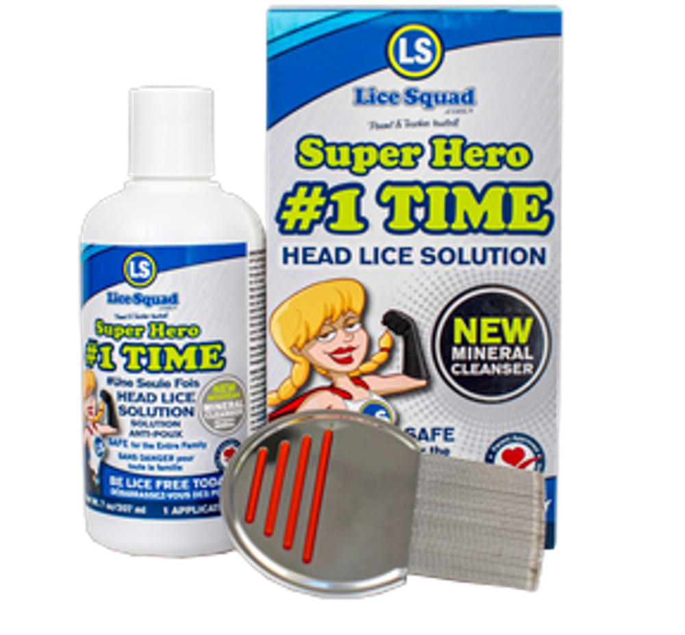 #1TIME Head Lice Solution