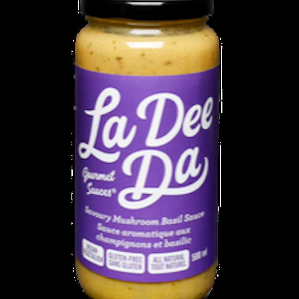 Savory Mushroom Basil Sauce