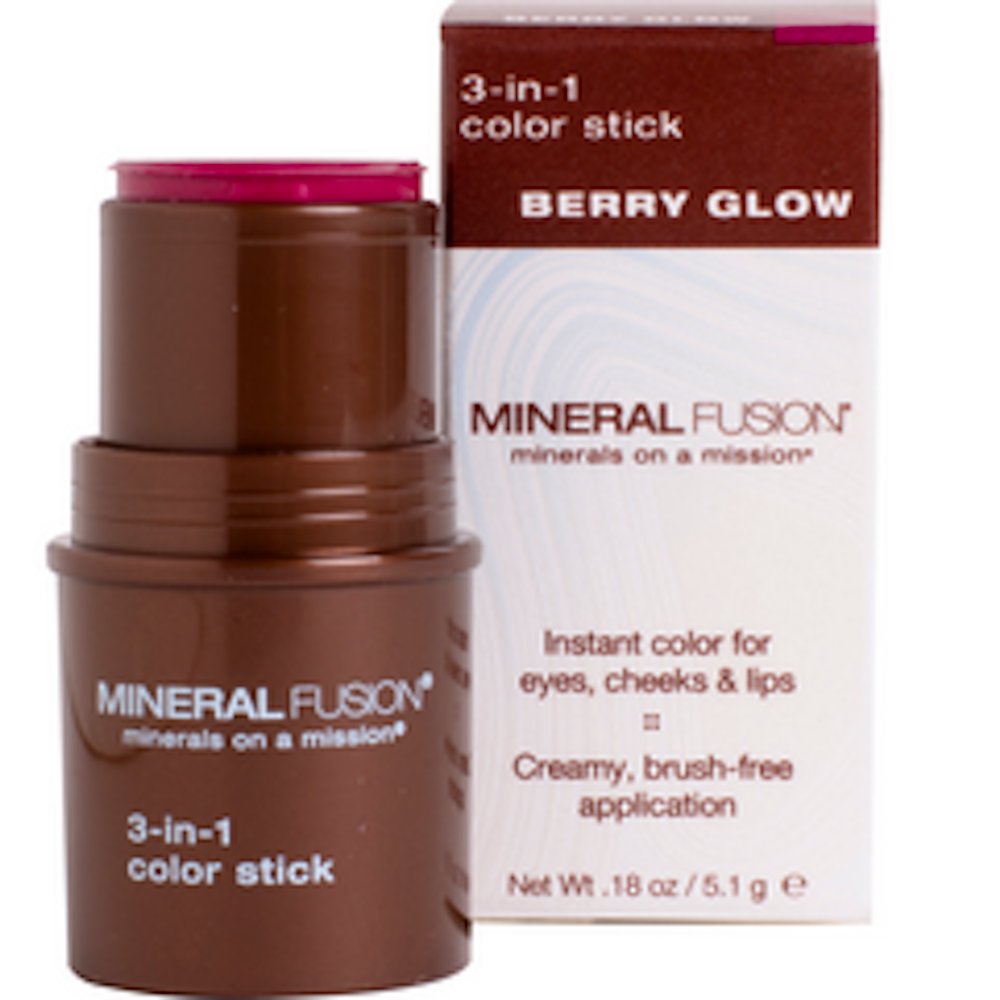 3-In-1 Color Stick Berry Glow
