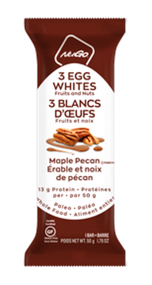3 Egg White Bar - Maple Pecan