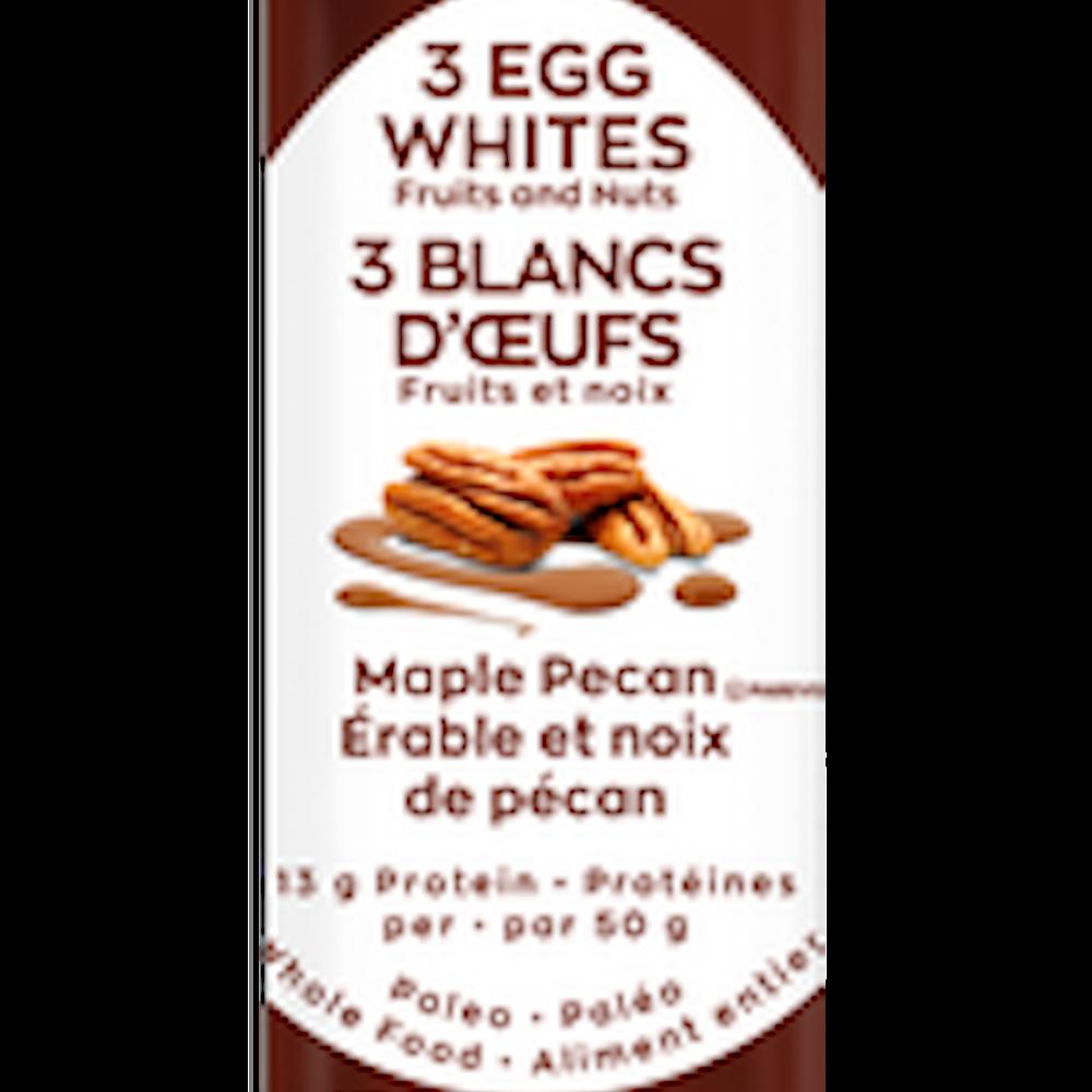 3 Egg White Bar - Maple Pecan