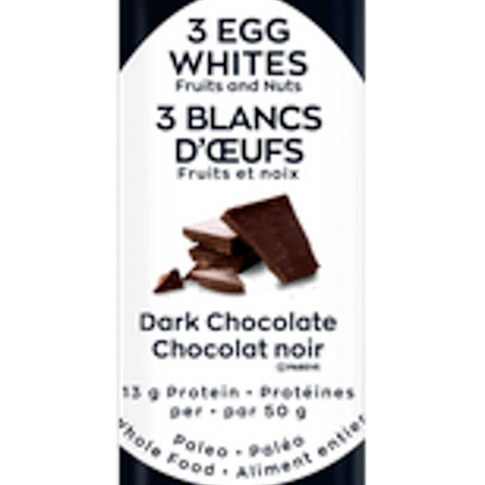 3 Eggs White Bar - Dark Chocolate