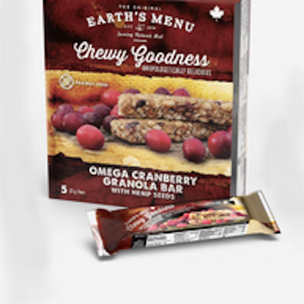 Omega Cranberry Granola