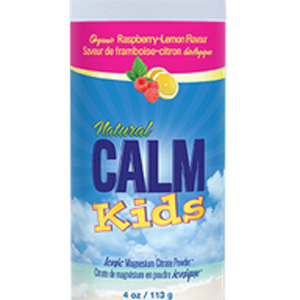 Natural Calm Kids Calm Rasp Lemon