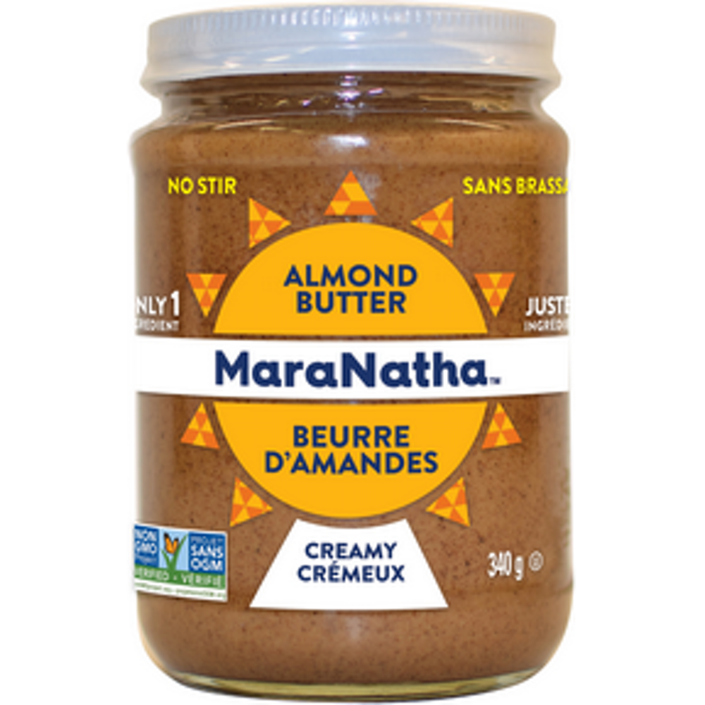 Almond Butr Roasted Creamy, No Stir