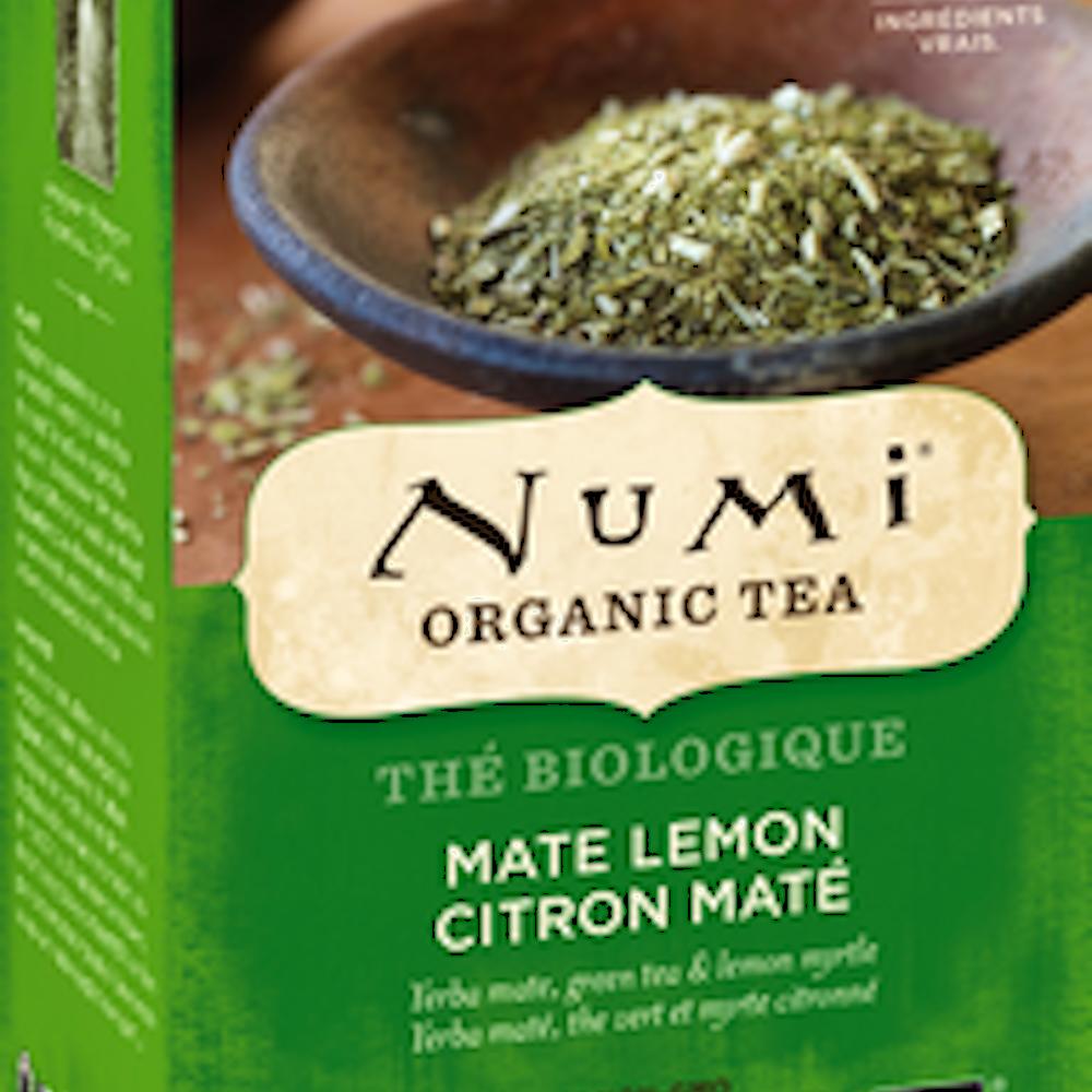 Organic Mate Lemon