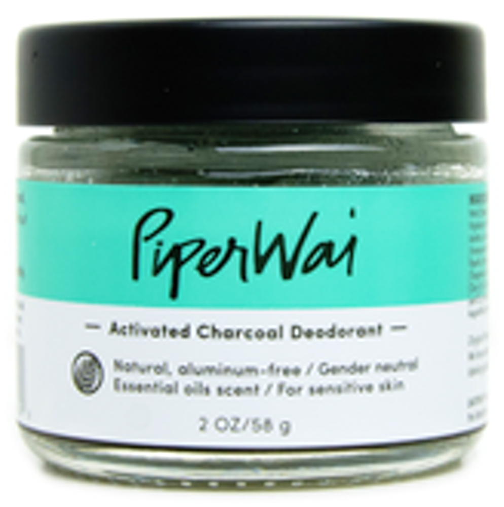 Activated Charcoal Deodorant - Jar