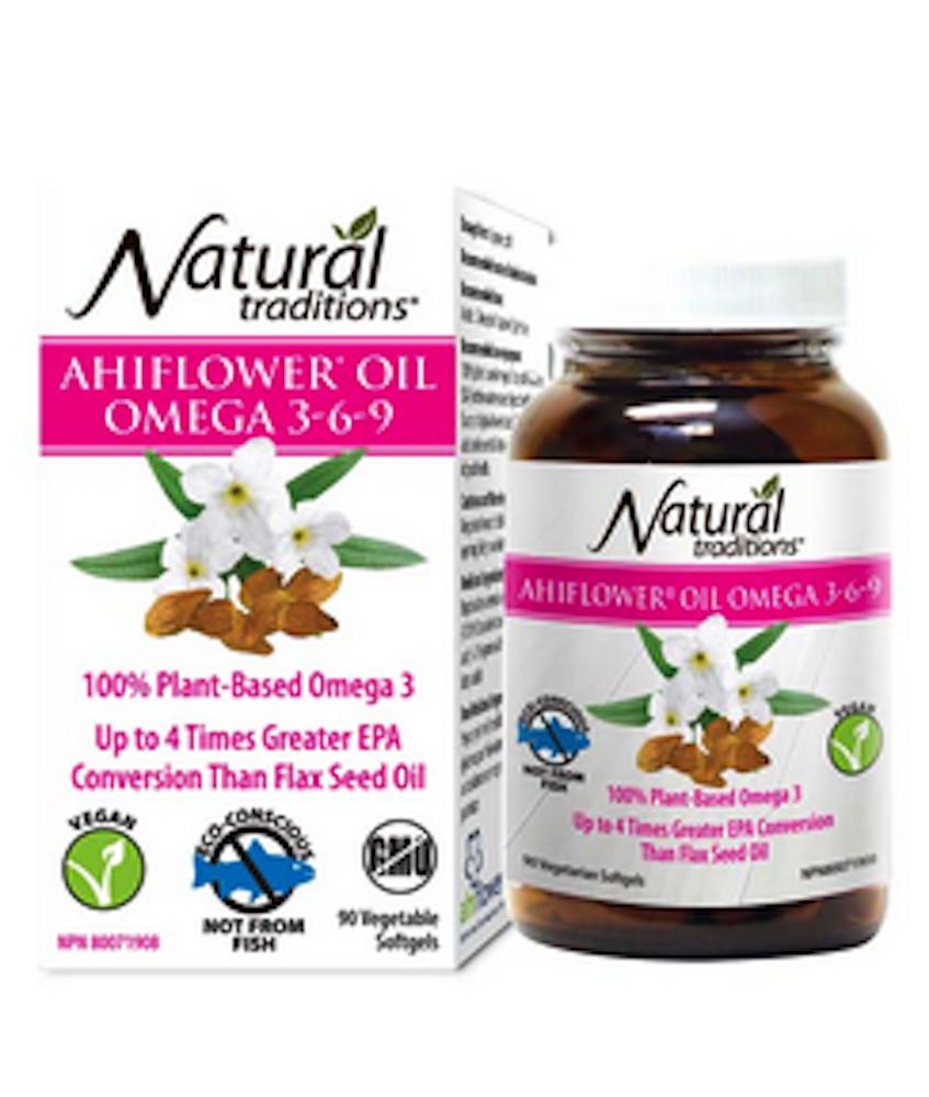 Ahiflower Oil Omega 3-6-9