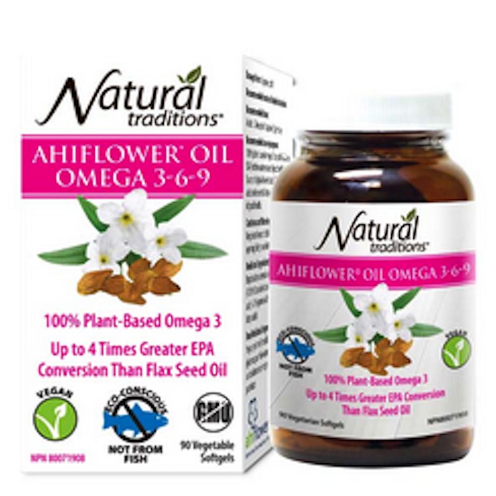 Ahiflower Oil Omega3-6-9