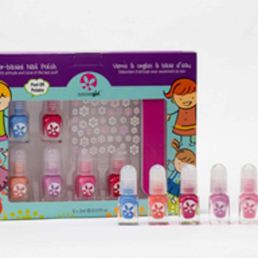 6 Mini Nail Kit, Mini Mani