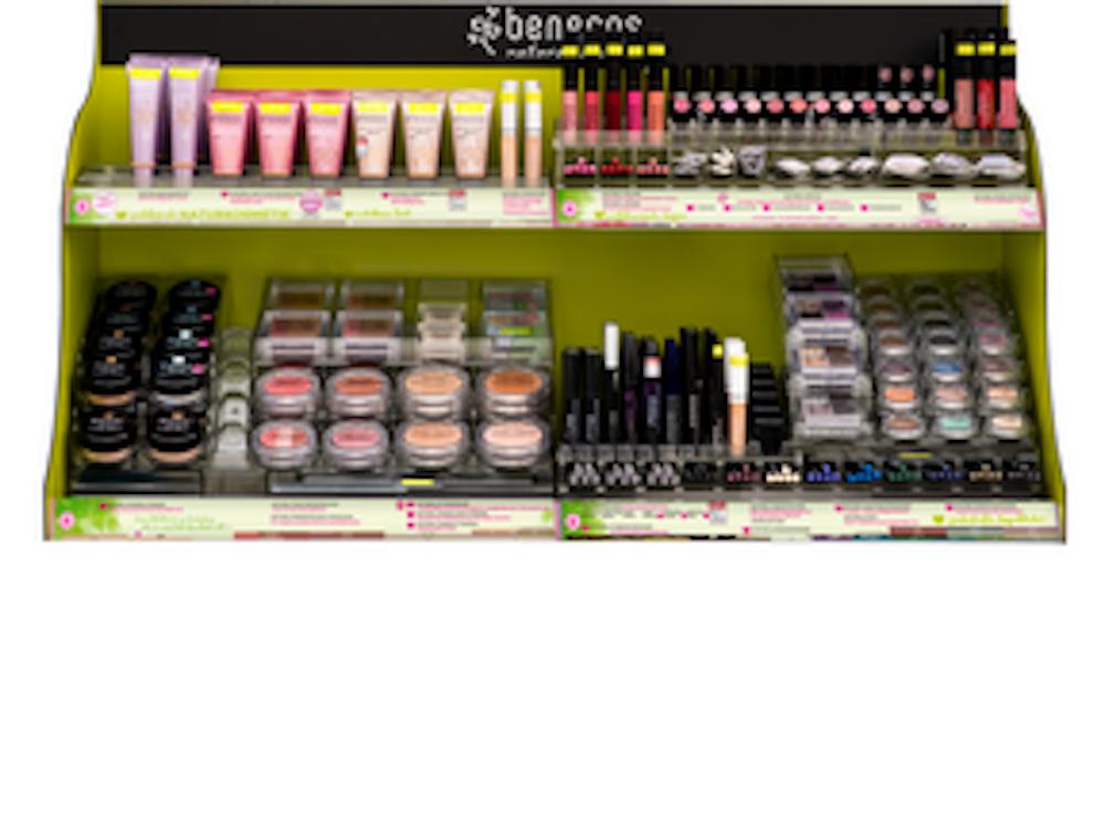 4-Tier Beauty Shelf Display