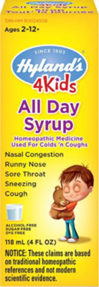 All Day Syrup 4kids