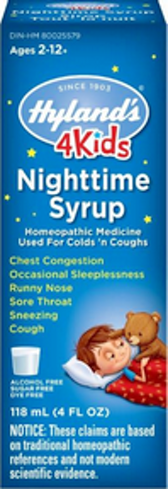 4KIDS  Nighttime Syrup