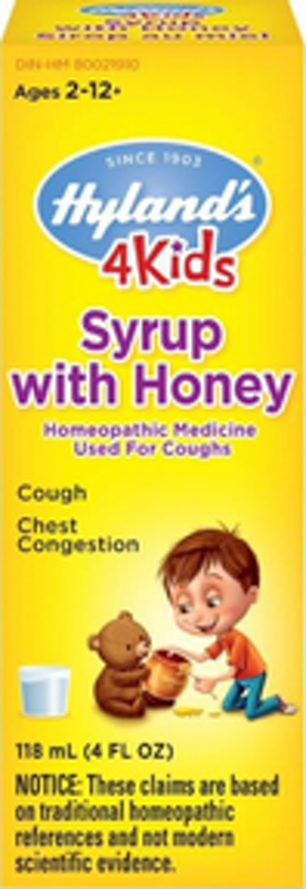 4 KIDS Syrup with Honey
