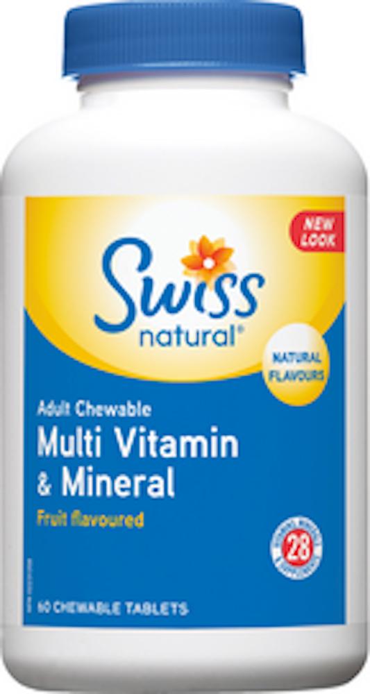 Adult Multi Vit & Min Fruit