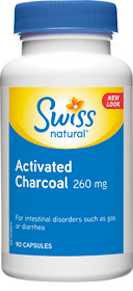 Activated Charcoal 260mg Capsule
