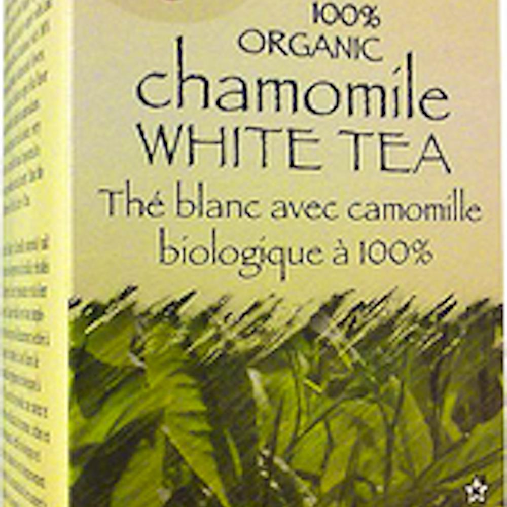 100% Organic Chamomile White Tea