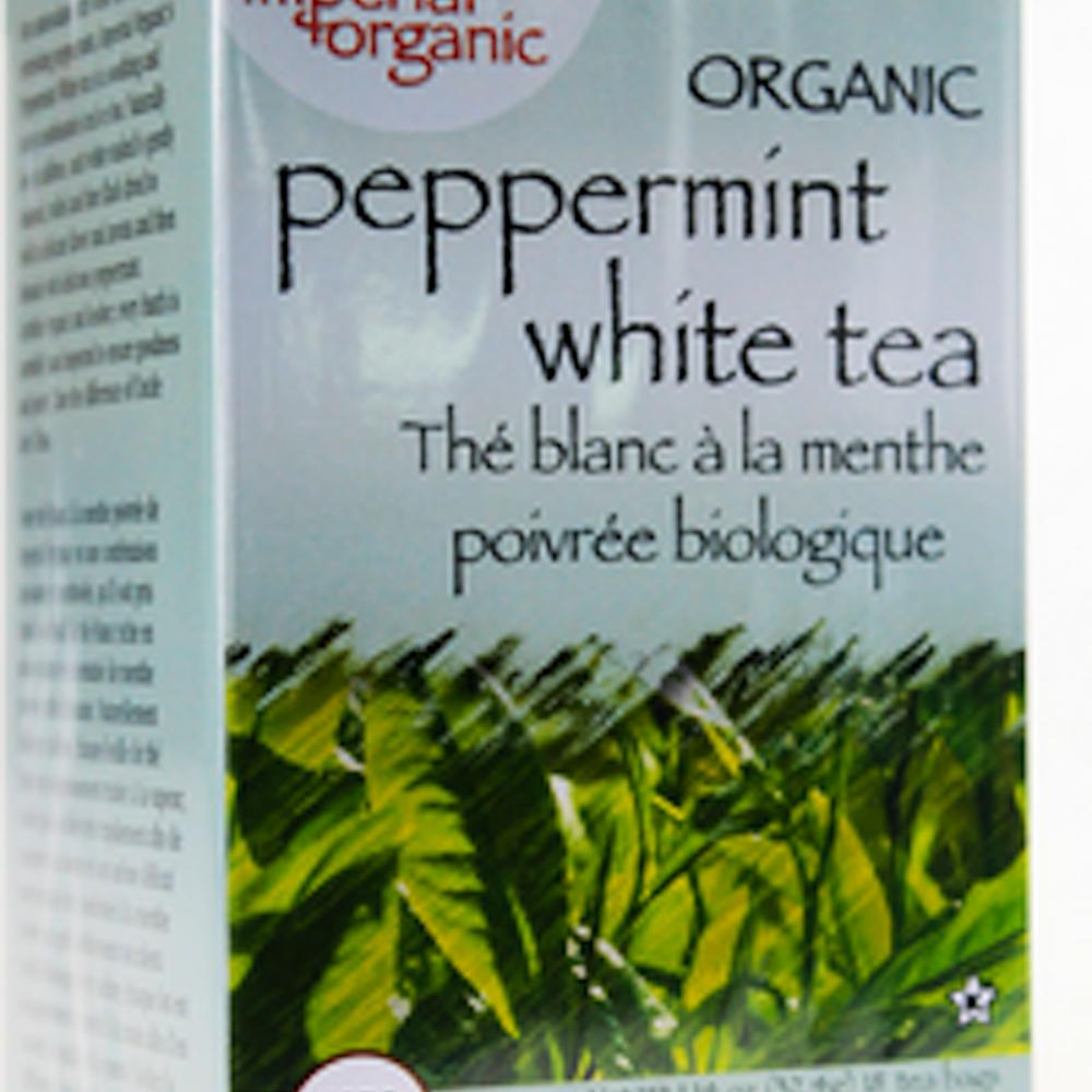 100% Organic Peppermint White Tea
