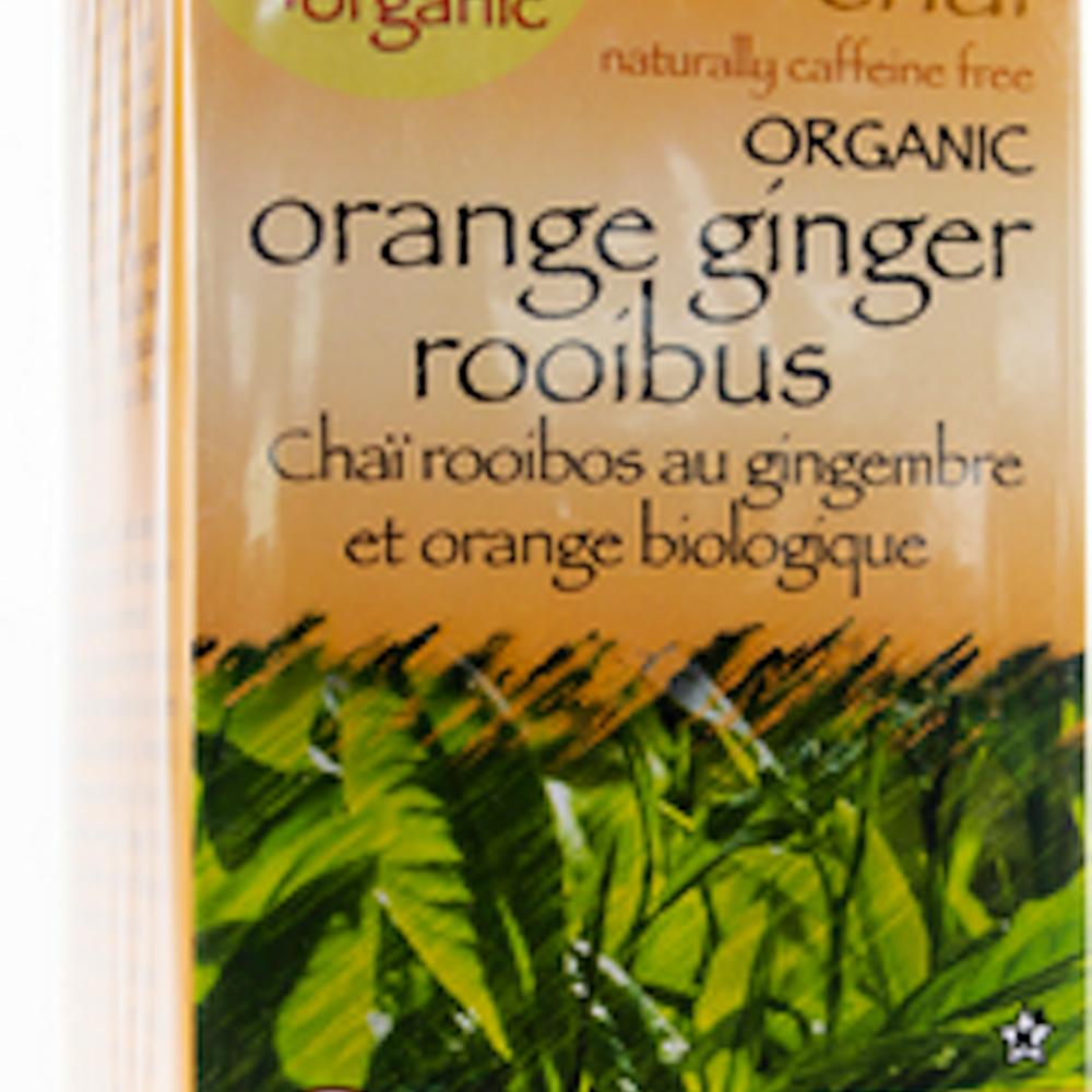 100% Organic Orange Ginger Rooibos Chai Tea