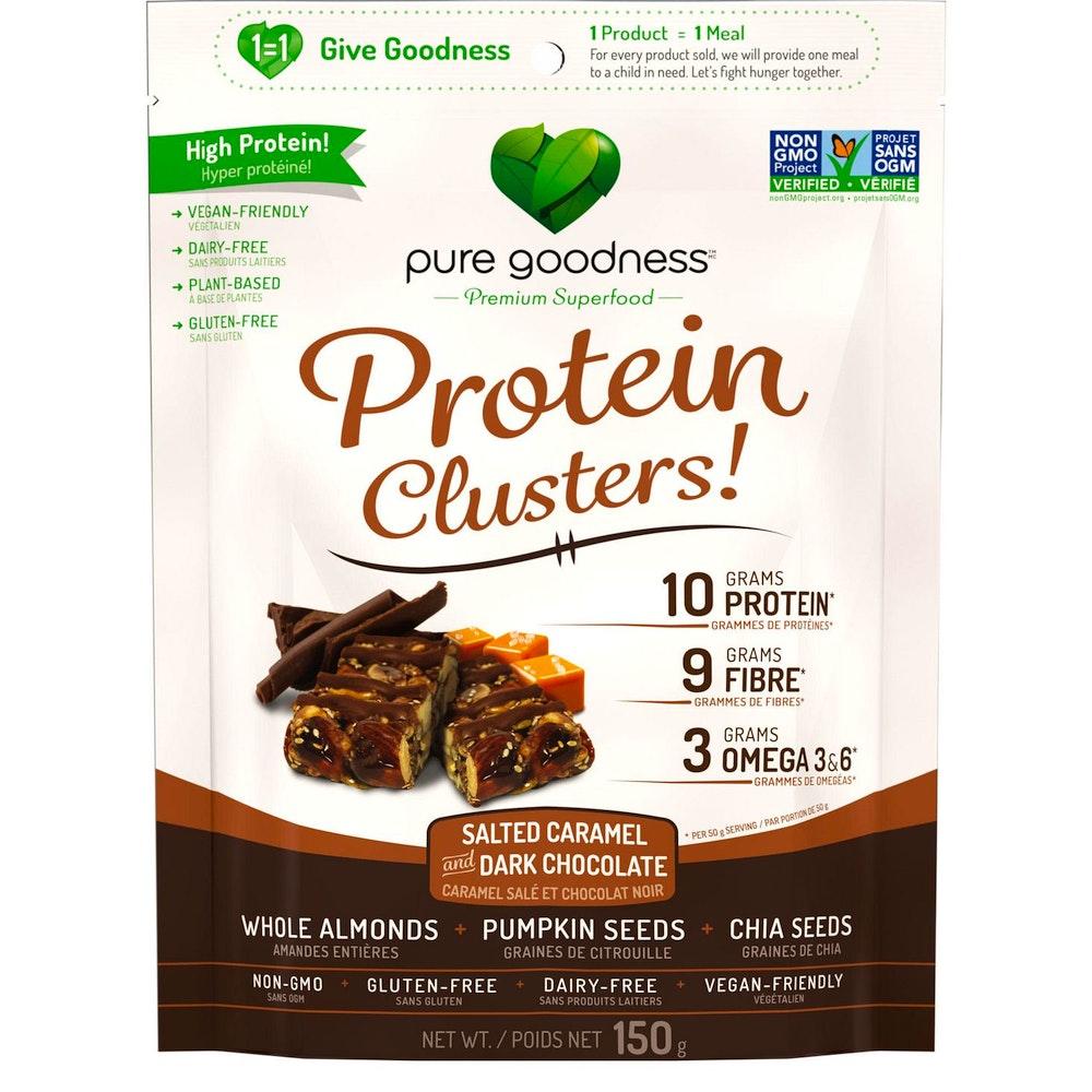 Protein Clusters ( caramel salé et chocolat noir)