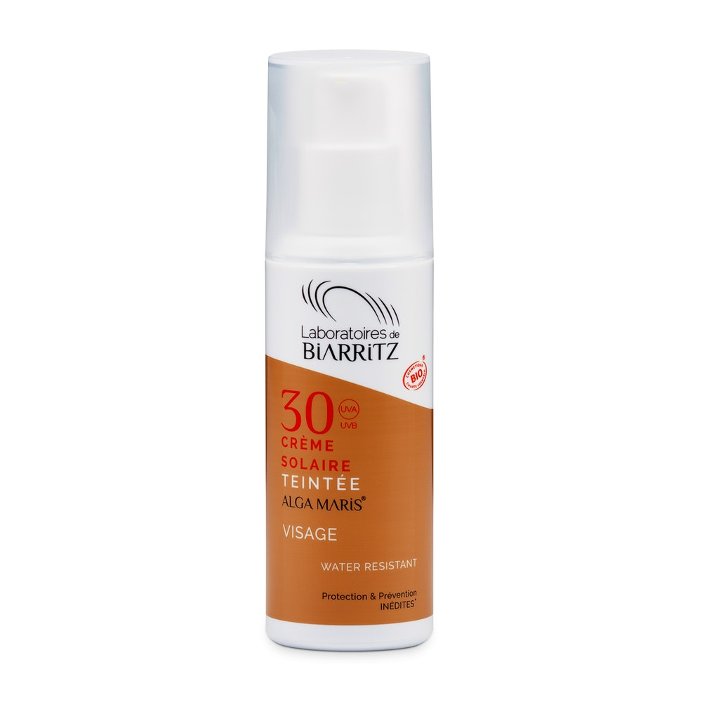CERTIFIED ORGANIC SPF30 TINTED FACE SUNSCREEN