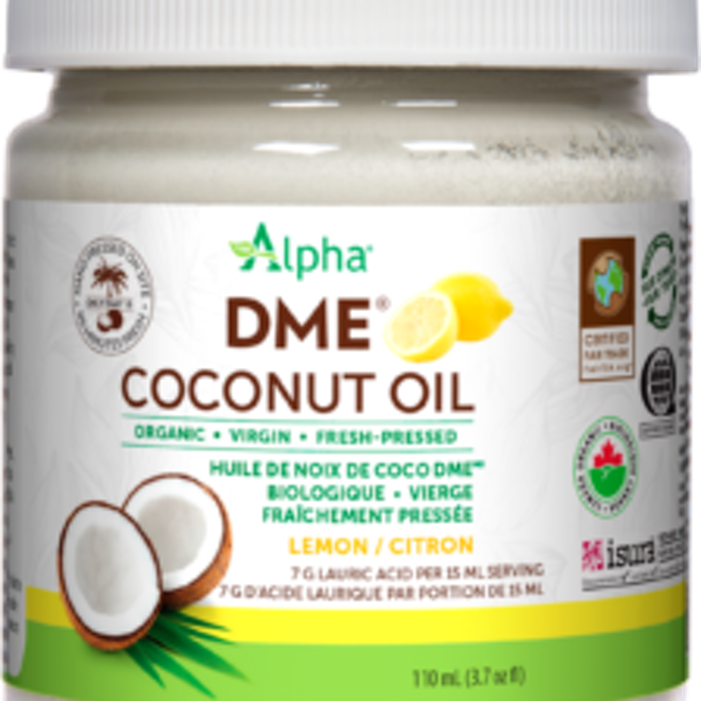 DME Coconut Oil Lemon